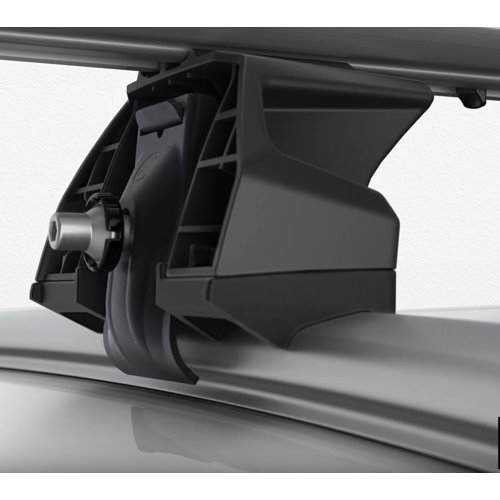 Thule Mini Countryman 5dr 11 - 16 Evo FlushRail Black WingBar Roof Rack