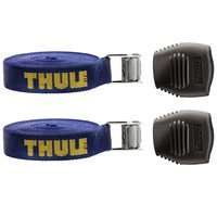 Thule 523 15 Foot Heavy-duty Cam Buckle Tie-down Load Straps