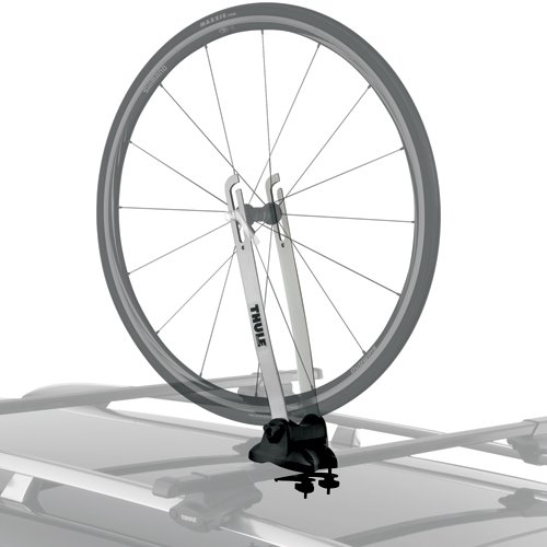 Thule 593 Wheel-On Bicycle Front Wheel Carrier for Car Roof Racks