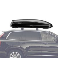 Thule 615 Pulse L Large Black Cargo Box for Car Roof Racks