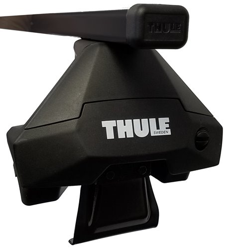 Thule Honda Civic 4dr 2012 - 2015 Complete Evo Clamp Square Bar Roof Rack