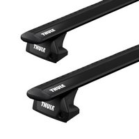 Thule Mini Hardtop 5dr 2014 - 2020 Evo FlushRail Black WingBar Roof Rack