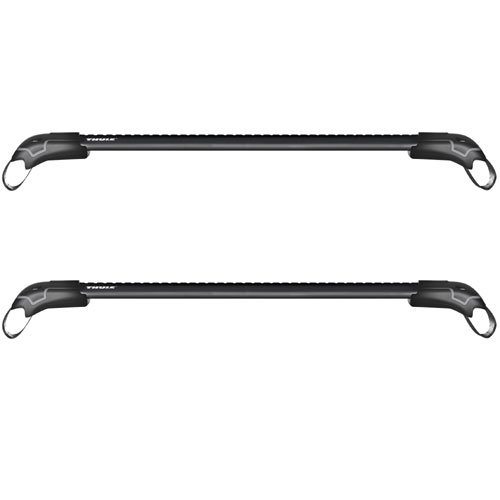 Thule 7501b 7502b 7503b 7504b AeroBlade Edge Black 2 Bar Car Roof Rack