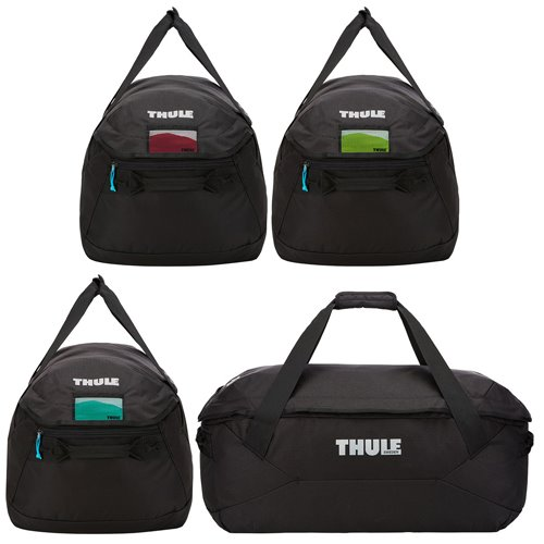 Thule 800603 GoPack Four Pack Set of Bags for Roof Box Organization