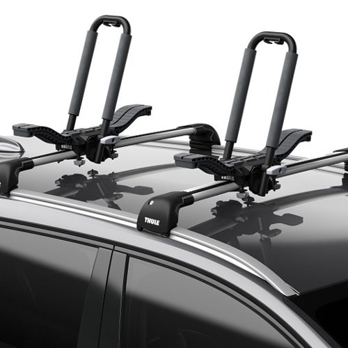 Thule 890000 Compass Car Roof Rack Mounted Kayak and SUP Carrier