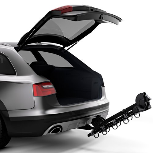 Thule 9056 Camber 4 Bike Trailer Hitch Mount Bicycle Carrier Rack