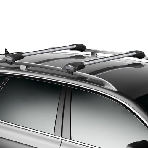Thule 7501 7502 7503 7504 AeroBlade Edge 1 Bar Raised Railing Rack