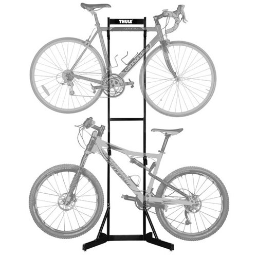 Thule 578101 Bike Stacker Storage Racks Hold and Protect 2 Bicycles