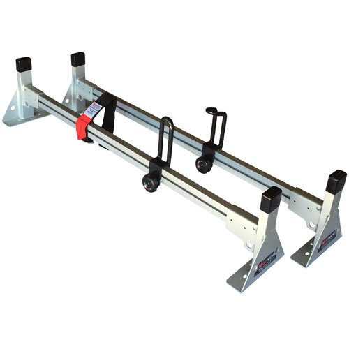 Vantech 57 Pick-up Truck Cap Rack 2 Bar Aluminum H1094