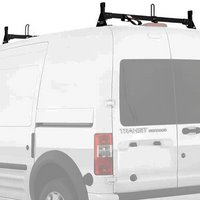Vantech Ford Transit Connect 2008-13 Aluminum 2 Bar Low-Profile Utility Ladder Rack With Tracks H2167