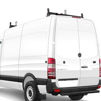 Vantech Sprinter High Top Van 2007+ Steel Low Profile 2 Bar Utility Ladder Rack H2667