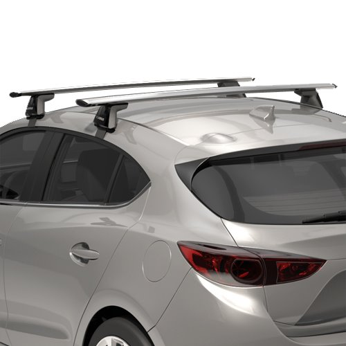 Yakima 8000150 BaseLine Towers Car Roof Rack Naked Rooflines, 2 Pack