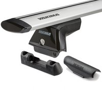 Yakima 8000148c SkyLine Roof Rack with JetStream Bars, Landing Pads
