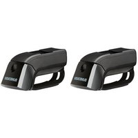 y0151 Yakima 8000151 TimberLine Towers Raised Railing Car Roof Racks, 2 Pack