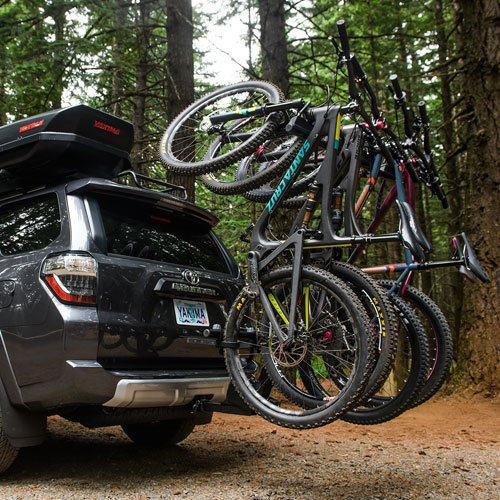 y2484 Yakima 8002484 HangOver 4 Bike Vertical Bicycle Carrier for 2 Hitch