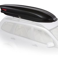 Yakima 8007334 SkyBox 12 Carbonite Car Roof Rack Cargo Box