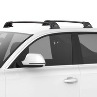 Yakima FlushBar SmartFoot Aero Car Roof Racks, 1 Bar Black, 40% Off
