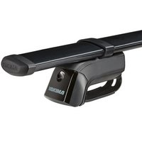 Yakima Jeep Grand Cherokee 5dr 2005-2010 TimberLine Car Roof Rack with Steel CoreBars for Factory Raised Rails