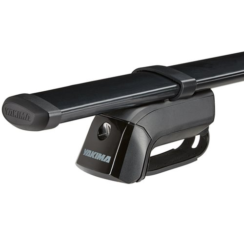 Yakima Jeep Liberty 5dr 2008-2012 TimberLine Car Roof Rack with Steel CoreBars for Factory Raised Rails