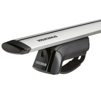 Yakima Kia Borrego 5dr 2009-2009 TimberLine Car Roof Rack with JetStream Aluminum Bars for Factory Raised Rails