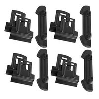 Yakima RidgeClips for RidgeLine Towers on Flush Mount Roof Rack Rails